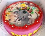 Torta kon Little Pony