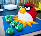 Torta Angry birds