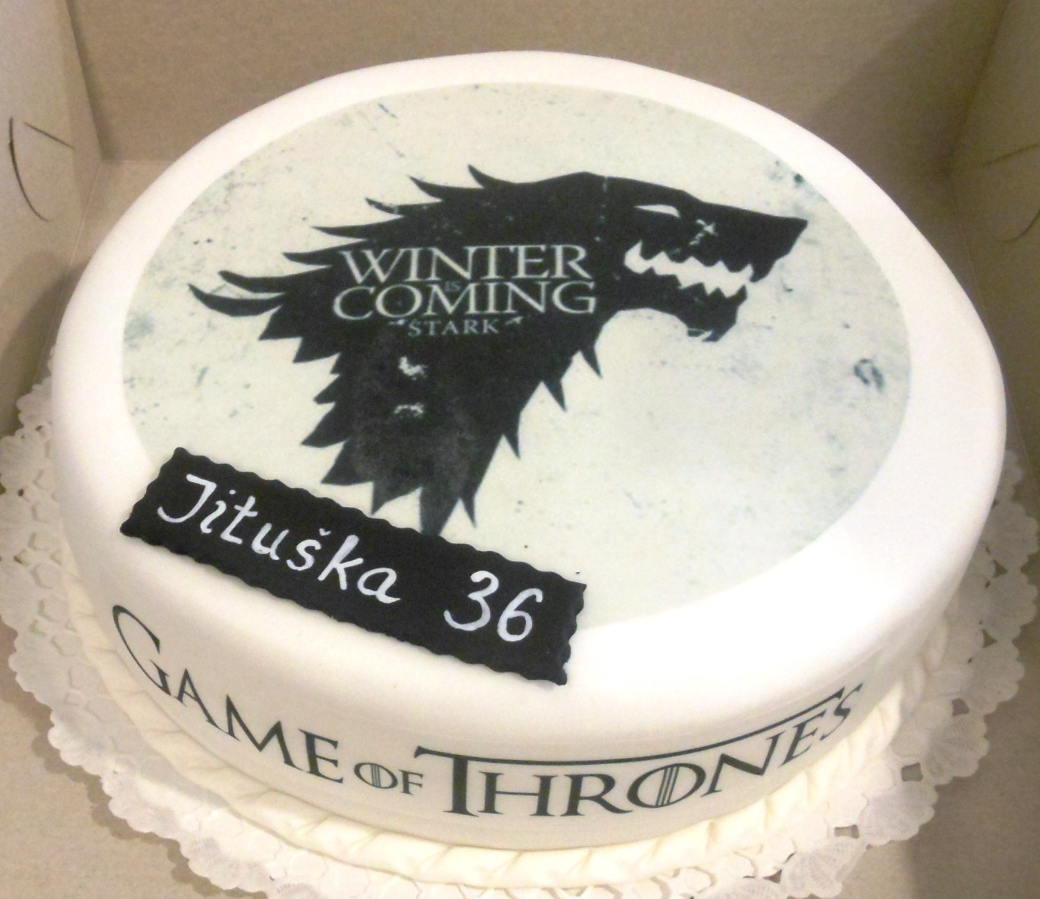 Torta Game of Thrones