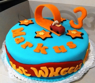 Torta Auto Hot Wheels