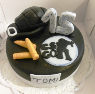 Torta Counter Strike